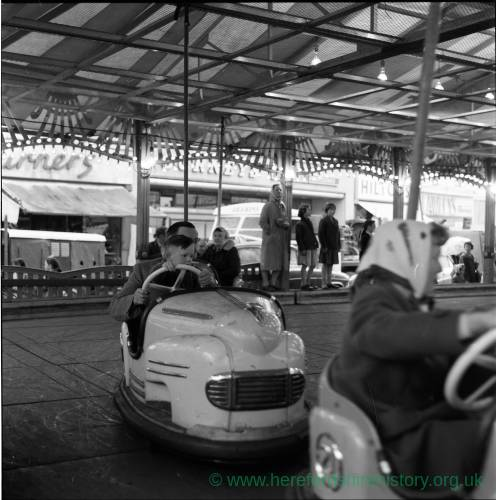Dodgem Cars at the 1962 Hereford May Fair