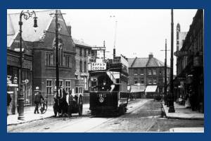 London United tram, Wimbledon