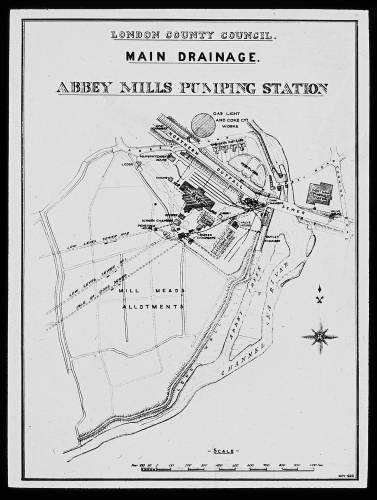 Abbey Mills site plan