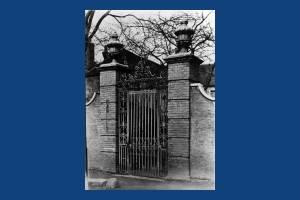 Church House: Entrance gates