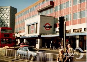 Morden Underground Station