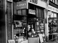 Lambton Road, Wimbledon: Evans newsagents