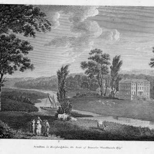 Armston House, Kings Caple, Herefordshire, 1788