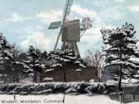 Wimbledon windmill in winter
