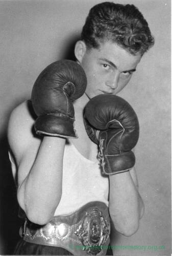 Unknown boxer.