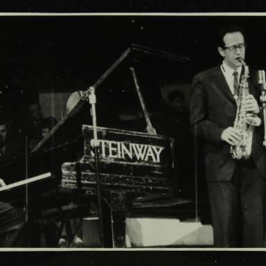 Dave Brubeck and Paul Desmond (left to right)