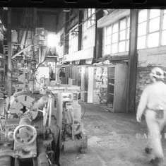 Fitter's Workshop at Westoe Colliery