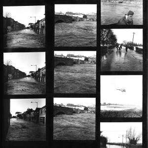 Contact sheet - floods in Hereford 2.