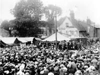 Opening of Mitcham Fair, Upper Green