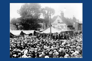 Opening of Mitcham Fair, Upper Green