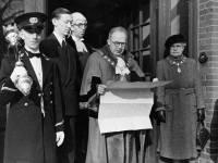 Proclamation of Accession of Queen Elizabeth II, Mitcham Town Hall