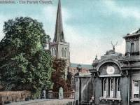St. Mary's Parish Church and Stag Lodge, Wimbledon