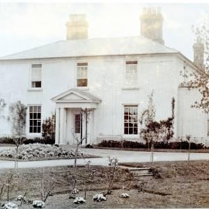 Vicarage at Staunton-on-Arrow, c1920