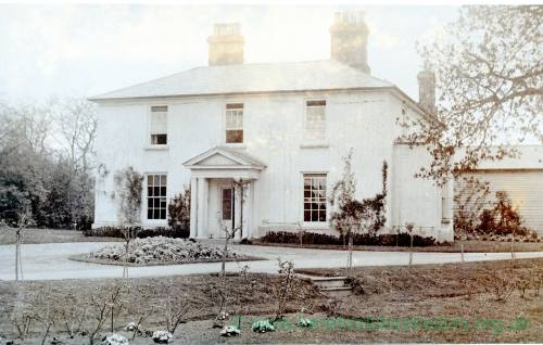Vicarage at Staunton-on-Arrow, c1920