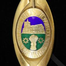 1981 TOWN MAYORS BADGE OF OFFICE