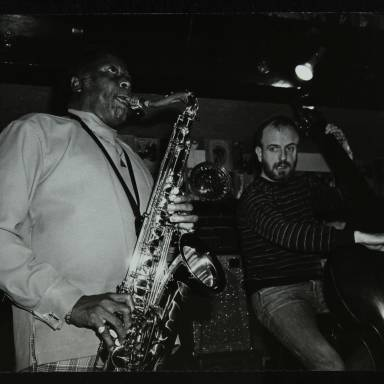 Eddie 'Lockjaw' Davis and Jim Richardson (left to right)