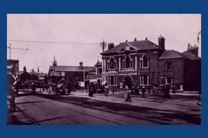 Broadway, Wimbledon:  Looking towards Town Hall & Railway Station