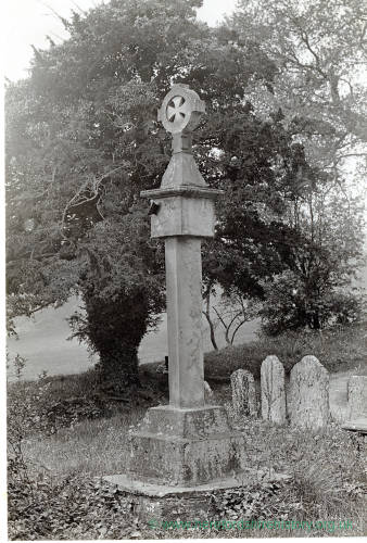 Tedstone Delamere, Cross, 1928