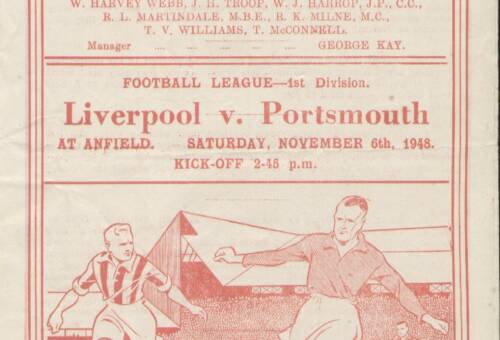 19481106 Liverpool Programme