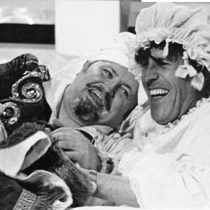 123 - Harry Secombe & Bruce Forsyth in costume