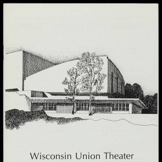 Wisconsin Union Theatre, Madison, WI, USA, October 1982