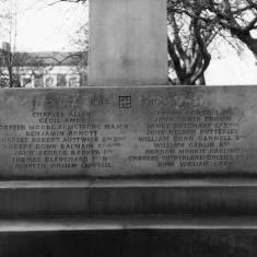 "Remembrance Cross St Hilda""s Churchyard"