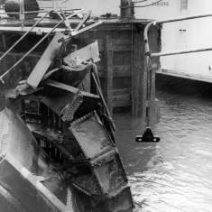 Damaged Dock Gate