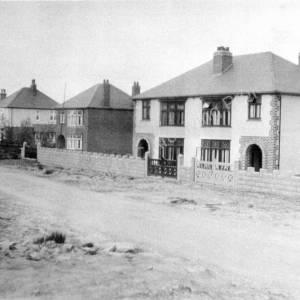 Houses On Creswick Lane 1933