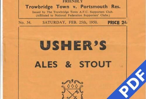 19500225 Trowbridge Away