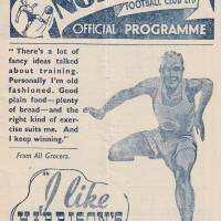 19480821 Official Programme Preston Away