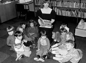 Wimbledon Library, Children's Librarian