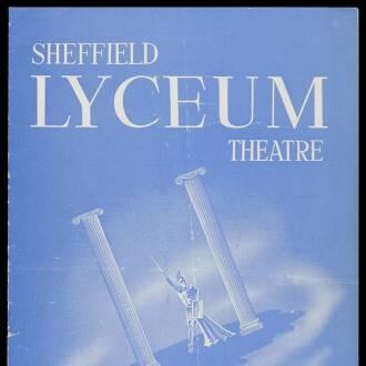 Lyceum Theatre, Sheffield, September 1964