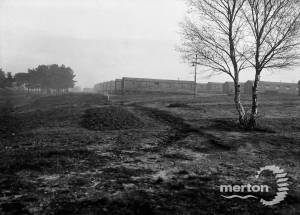 Trenches opposite Camp View, Wimbledon Camp