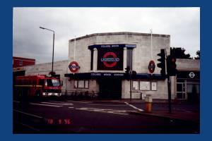 Colliers Wood Underground Station