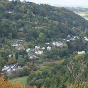 Symonds Yat from the opposite hillside
