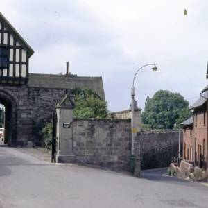 Bishops Palace and Gwynne Street, Hereford, 1972