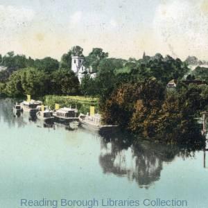 View from Caversham Bridge.