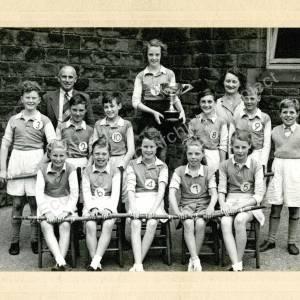 Grenoside Junior School Rounders Team 1954