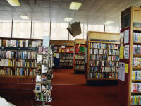 Mitcham Library, book collection