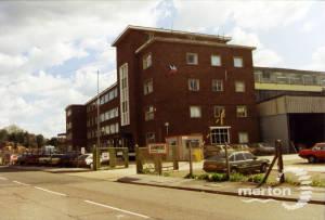 Willow Lane, Morfax factory, Mitcham