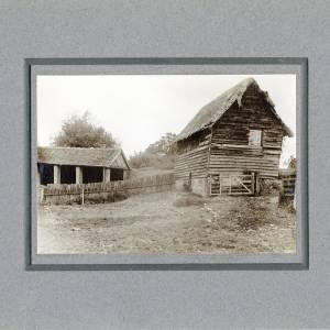 Aylton Court Farm, old cart house stable, 1910