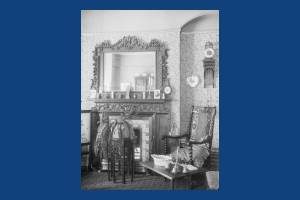 Kingston Road, 'The Oriels', Drawing room at H.G. Quartermain's home