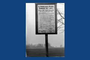 Wimbledon Common: Noticeboard