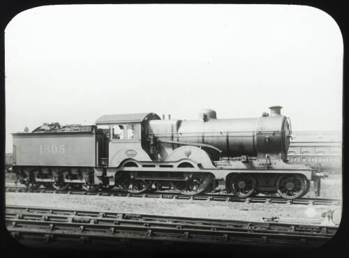 Great Eastern Railway steam locomotive 1805