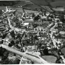 Aerial views of Bromyard