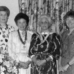 Inner Wheel Club of Wortley  May 1987