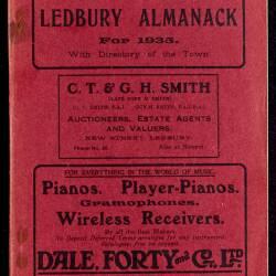 Tilley's Ledbury Almanack 1935