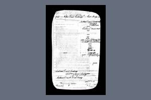 W Couldridge Enlistment Papers