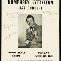 Town Hall, Leeds. Humphrey Lyttelton