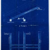 Lancashire and Yorkshire Railway: timber for 25 cwt sack hoist